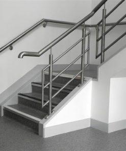 gia công cầu thang inox - cơ khí nguyệt ánh